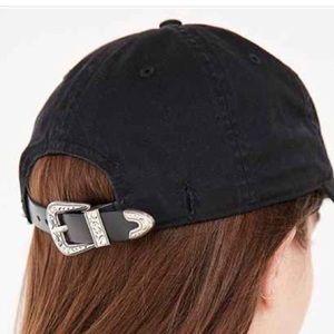 Western belt buckle hat